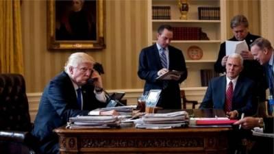 ٹرمپ کا بطور صدر پیوٹن سے پہلا رابطہ