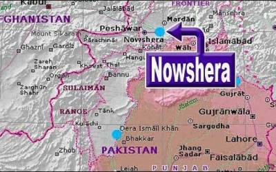 نوشہرہ میں پبی کے علاقے میں 3 افراد جاں بحق