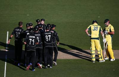 نیوزی لینڈ نے آسٹریلیا کو پہلے ون ڈے میچ میں شکست دیدی