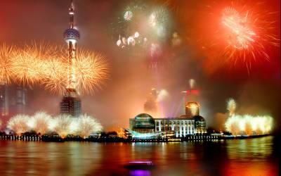 چین میں نئے سال کی آمد پر ایسی زبردست آتش بازی کہ بس دیکھتے ہی رہ جائیں