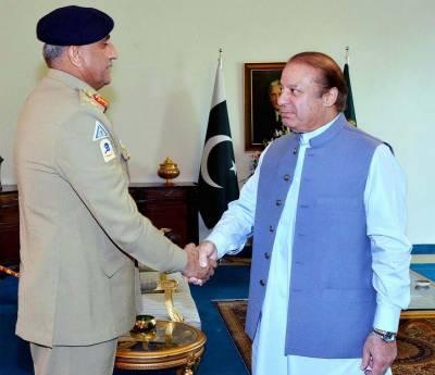 اسلام آباد: وزیر اعظم سے آرمی چیف جنرل قمر جاوید باجوہ کی ملاقات