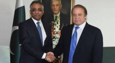 وزیراعظم نواز شریف سے نامزد گورنر سندھ محمد زبیر کی ملاقات