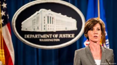 ڈونلڈ ٹرمپ نے حکم نہ ماننے پر اٹارنی جنرل کو معطل کر دیا