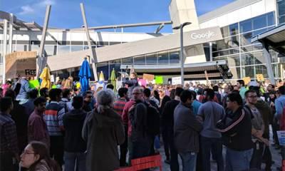 گوگل ملازمین بھی صدر ٹرمپ کیخلاف میدان میں آ گئے