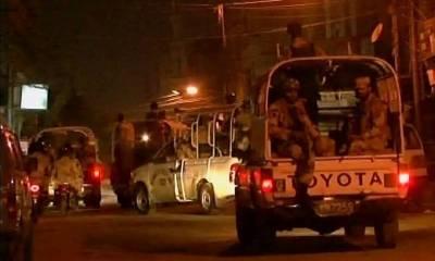کراچی میں پولیس اور رینجرز کی کارروائی، 8 ملزمان گرفتار