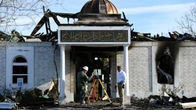 امریکا' وکٹوریہ میں شہید کی جانے والی مسجد کی تعمیرنو کیلئے 10لاکھ ڈالر عطیات جمع