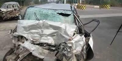 فیصل آباد: ٹریفک حادثے میں 3 افراد جاں بحق
