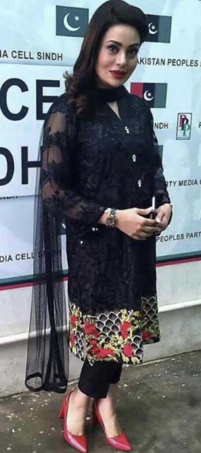 معروف اداکارہ سعدیہ امام کا سیاست میں قدم!
