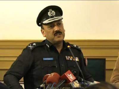 آئی جی سندھ نے ملکی سیاسی نظام پر کڑے سوال اٹھا دیئے