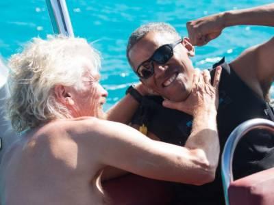 سابق امریکی صدربراک اوبامہ آج کل کھیل کود میں مصروف