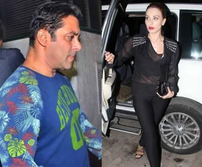 سلمان خان لولیا ونتر دونوں کے درمیان ناصرف فاصلے سمٹ رہے ہیں بلکہ محبتیں بڑھ بھی رہی ہیں
