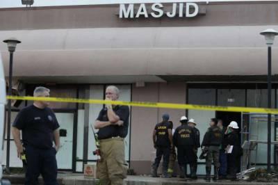 امریکہ مسجد کو آگ لگانے والوں کی نشان دہی پر30 ہزار ڈالرز انعام مقرر