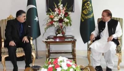 وزیراعظم سے نواب ثناءاللہ زہری کی ملاقات، اہم امور پر تبادلہ خیال