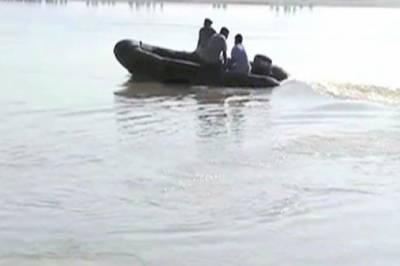 لاڑکانہ :دریائے سندھ میں کشتی ڈوبنے سے ہلاکتوں کی تعداد 9 ہو گئی