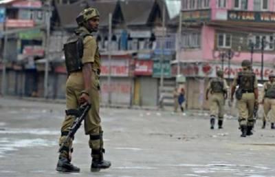 مقبوضہ کشمیر میں 6نوجوانوں کے قتل کے خلاف مکمل ہڑتال