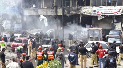 امن دشمنوں نے پھر لاہور میں بے گناہ شہریوں پر ظلم کی لکیرکھینچ دی
