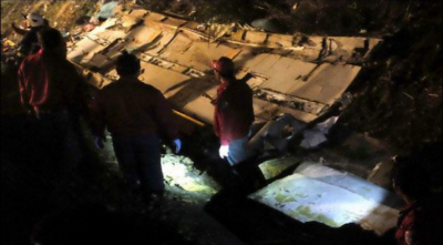 تائیوان بس حادثے میں ہلاک والوں کی تعداد 32 ہوگئی