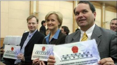 چین میں 2016کے دوران 1576 افراد کو گرین کارڈ دیے گئے