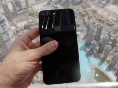 دنیا کی بلند ترین عمارت سے آئی فون 7پلس پھینکنے کے بعد کیا ہوا ؟