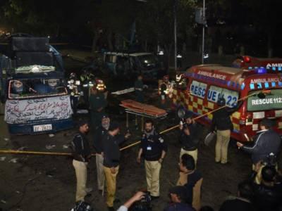لاہور: مال روڈ خود کش دھماکے کا مقدمہ درج،وزیراعلیٰ کو رپورٹ پیش