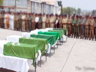 کوئٹہ: شہید اہلکاروں کی نماز جنازہ ادا کردی گئی