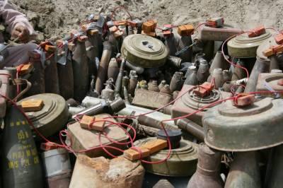 یمن, باغیوں نے ملک میں بارودی سرنگوں کا جال بچھا دیا