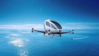 دبئی میں جلد آرہی ہے ڈرون ٹیکسی