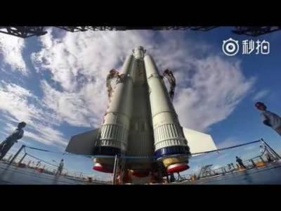 چین اس سال پہلا کارگو خلائی جہاز لانچ کرے گا
