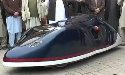 ایک لٹر میں 180کلومیٹر سفر، پشاوری طلبا نے کم خرچ گاڑی بنا لی