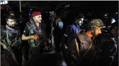 خانیوال پولیس مقابلے میں 6 دہشتگر ہلاک، مختلف کارروائیوں میں 83افراد گرفتار