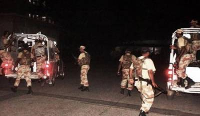 کراچی: امن دشمنوں کیخلاف رینجرزکی کارروائیاں، 18 دہشتگرد مارے گئے