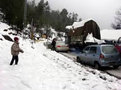 آزادکشمیر میں بارش اور برف باری کا ایک نیا سلسلہ شروع