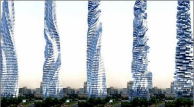 دبئی میں اب دنیاکی پہلی 360 ڈگری پر گھومنے والی عمارت تعمیر ہوگی