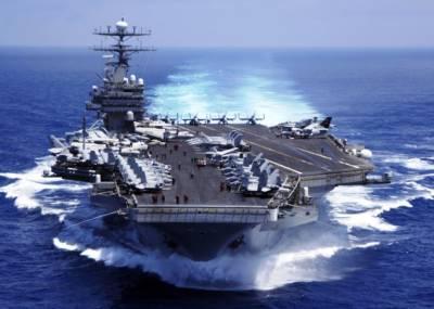 امریکہ اور چین میں ٹھن گئی، امریکی بحری بیڑے کا جنوبی بحیرہ چین میں گشت