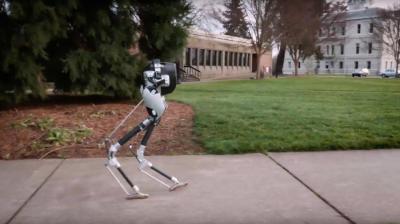 سائنسدانوں کی انوکھی ایجاد، شتر مرغ سے ملتا جلتا روبوٹ تیارکر لیا