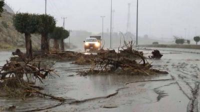 عرب ممالک میں شدید بارشوں سے نظام زندگی درہم برہم