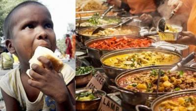 بڑھتی ہوئی بھوک کے باوجود پاکستان میں 40 فیصد خوراک ضائع ہو جاتی ہے، ورلڈ فوڈ آرگنائزیشن