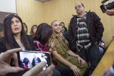 ایک فلسطینی کو شہیدکرنے کی سزا صرف ڈیڑھ سال قید