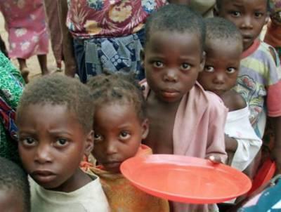 تین افریقی ملکوں میں 14 لاکھ بچے ناقص غذائیت کا شکار