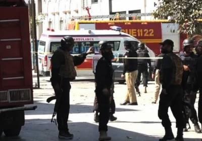 لاہور : ڈیفنس دھماکے کی تحقیقات شروع ، ڈیفنس انتظامیہ کا کل ا سکول بند رکھنے کا اعلان