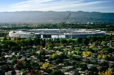 ایپل کے نئے دفتر کا تعمیری کام مکمل