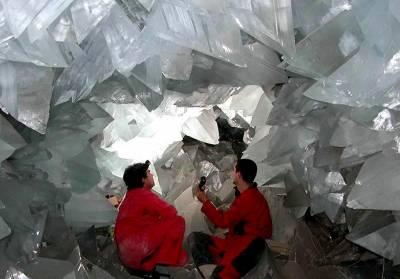 کرسٹلز میں قید پچاس ہزار سال قدیم جرثومے دریافت
