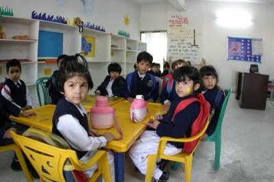 لاہور: شہر کے مختلف نجی اسکولوں کا آج چھٹی کا اعلان