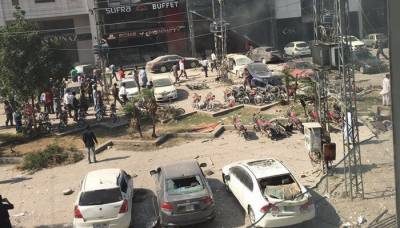 لاہور ڈیفنس دھماکے کا معمہ حل،مقدمہ درج کرلیاگیا