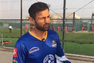 شعیب ملک غیر ملکی کھلاڑیوں کو پی ایس ایل فائنل پاکستان میں کھیلنے کی دعوت دینے لگے