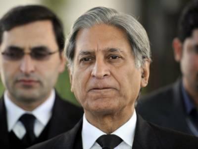 پی ایس ایل کا فائنل اگر لاہور میں نہ ہوا تو حکومت کی ناکامی ہو گی :اعتزازاحسن