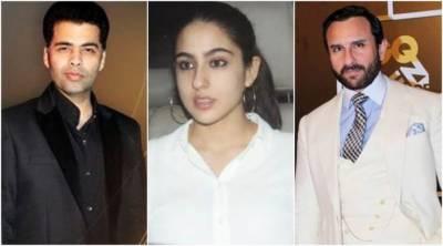 سارہ علی خان نے کرن جوہر کی نئی فلم میں عدم دلچسپی ظاہر کر دی
