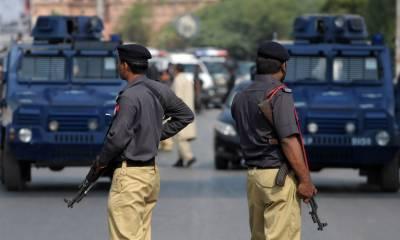 وہاڑی میں پولیس کا سرچ آپریشن،45مشتبہ افراد زیرحراست