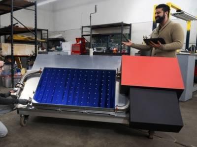 بنگلہ دیش میں شمسی توانائی سے چلنے والا فوڈ ویئر ہائوس
