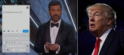 ٹرمپ کیا آپ جاگ رہے ہو؟ آسکر ایوارڈ کے دوران میزبان کا طنزیہ ٹوئٹ